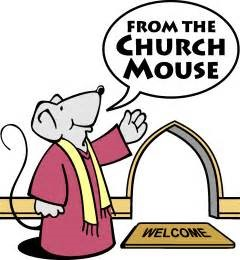 from the church mouse
